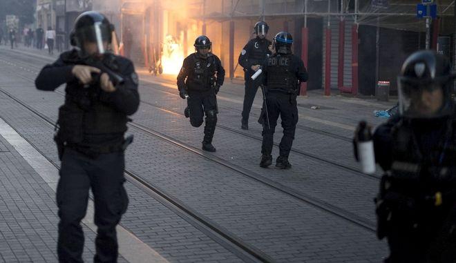 Αστυνομικοί στη Μασσαλία