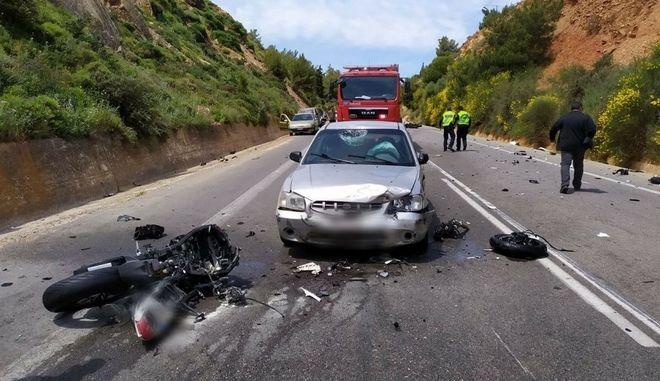 Νέα τραγωδία στην Κρήτη: Δύο νεκροί και μία σοβαρά τραυματίας από τροχαίο
