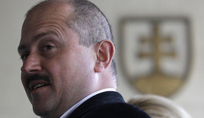 Ο ηγέτης της ακροδεξιάς στην Σλοβακία, Μάριαν Κοτλέμπα