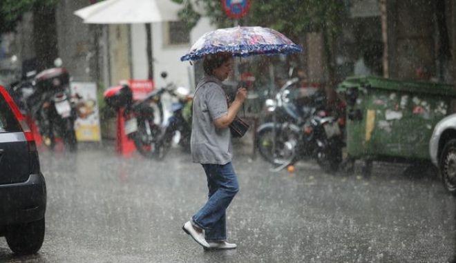 ΕΜΥ: Δελτίο επικίνδυνων καιρικών φαινομένων - Πολύ μεγάλα ύψη βροχής