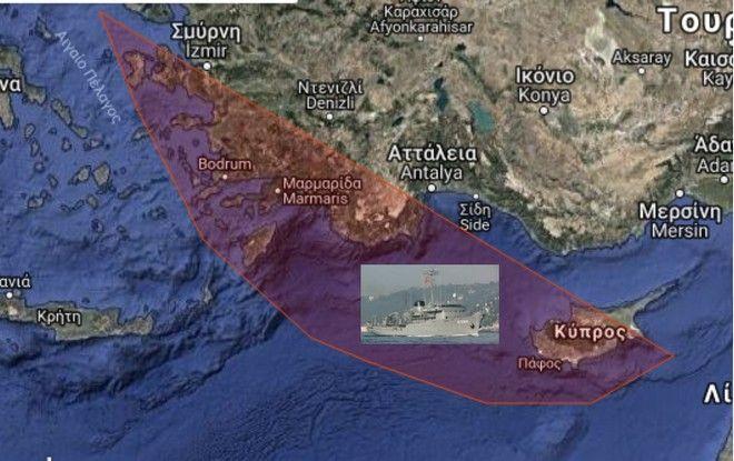 Κλιμάκωση από τους Τούρκους - Βγάζουν το Τσεσμέ στο Αιγαίο
