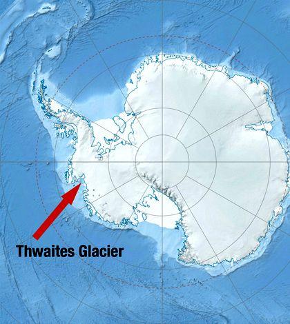 Τρύπα σαν το Μανχάταν σε παγετώνα αποκαλύπτει μια σκοτεινή αλήθεια