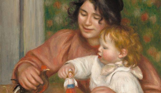 Παιδί με παιχνίδια - Gabrielle and the Artist's Son, Jean, 1895-1896.