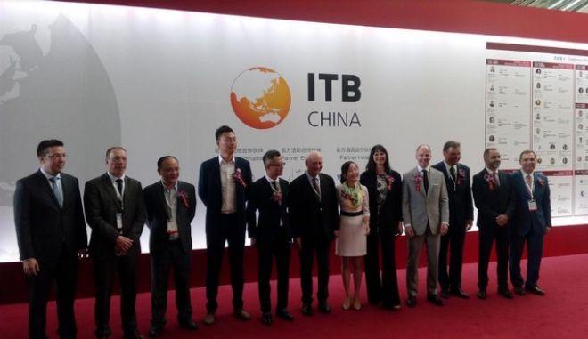 H Έλενα Κουντουρά εγκαινίασε την κορυφαία τουριστική έκθεση ITB China στη Σαγκάη