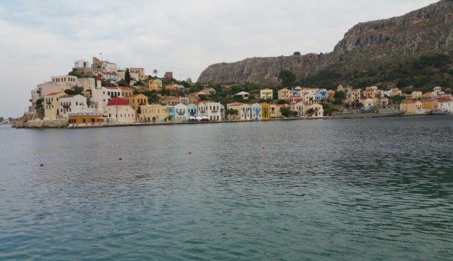 Συνεδρίαση του Περιφερειακού Συμβουλίου Νοτίου Αιγαίου, το Σάββατο 23 Μαΐου 2015, στο Καστελόριζο, με θέμα την επικείμενη κατάργηση των μειωμένων συντελεστών ΦΠΑ στα νησιά του Αιγαίου. (EUROKINISSI/ΠΕΡΙΦΕΡΕΙΑ Ν. ΑΙΓΑΙΟΥ)