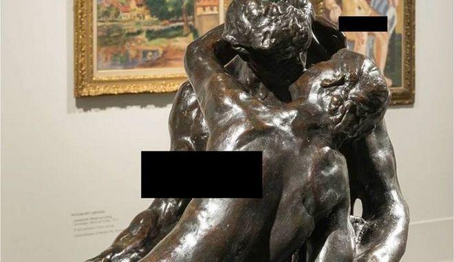 Το Facebook λογόκρινε γυμνό άγαλμα από έκθεση σε μουσείο