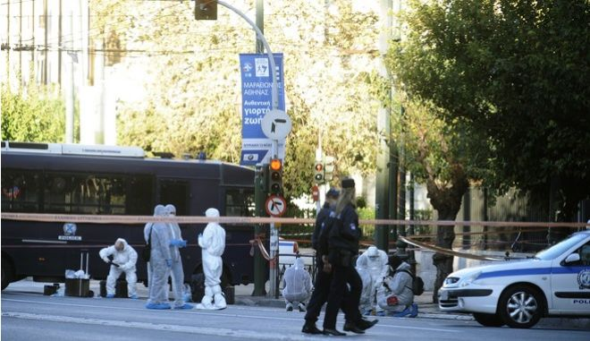 Επίθεση με χειροβομβίδα στο κέντρο της Αθήνας