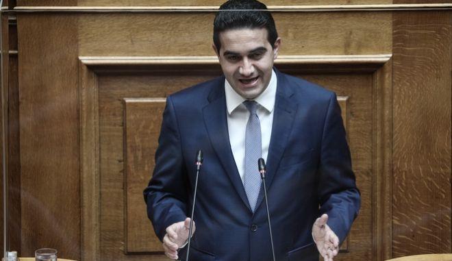 Ο κοινοβουλευτικός εκπρόσωπος του Κινήματος Αλλαγής, Μιχάλης Κατρίνης