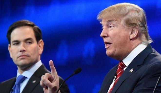 Νίκη Τραμπ στην έδρα του Ρούμπιο. 'Πήρε' τη Φλόριντα και τον οδήγησε σε παραίτηση