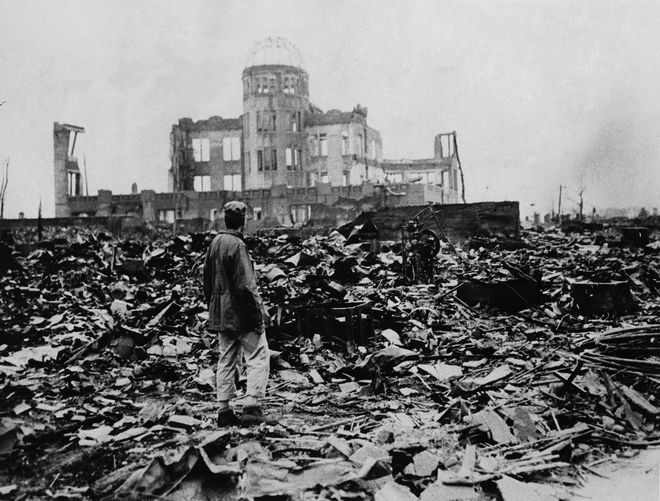Η Χιροσίμα μετά την ατομική βόμβα