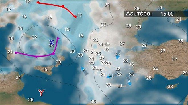 Βελτιωμένος καιρός το Σαββατοκύριακο - Χαλάει από Δευτέρα στα δυτικά, κεντρικά και βόρεια