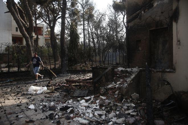 Φωτιά στη Βαρυμπόμπη 4 Αυγούστου