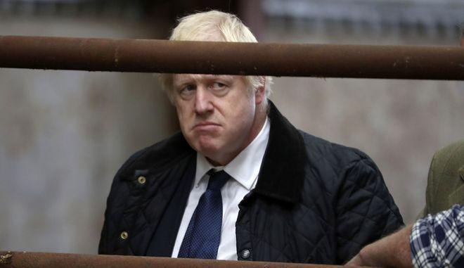 Ο βρετανός πρωθυπουργός Μπόρις Τζόνσον.