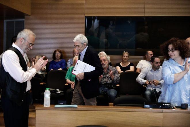 Στιγμιότυπο από το Δημοτικό Συμβούλιο Θεσσαλονίκης