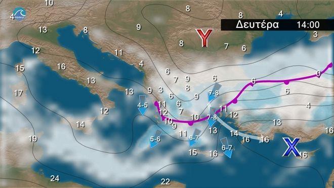 Καιρός: Υψηλές θερμοκρασίες μέχρι Σάββατο - Αλλάζει το σκηνικό από την Κυριακή