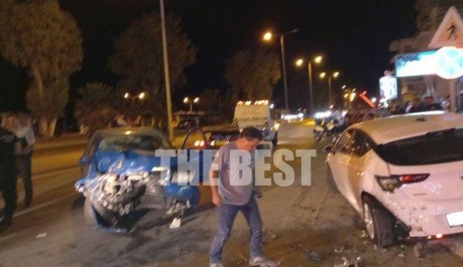 Το σημείο από το τραγικό περιστατικό, που έλαβε χώρα το βράδυ της Δευτέρας (27/09), στην Πάτρα.
