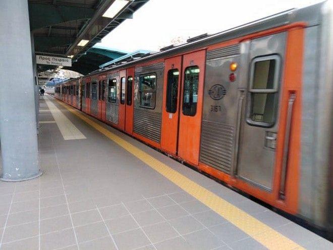 Μετρό: Μετά από χρόνια καθαρό τρένο στη Γραμμή 1