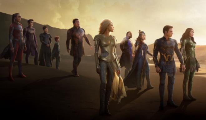 Η νέα ταινία της Marvel, Eternals