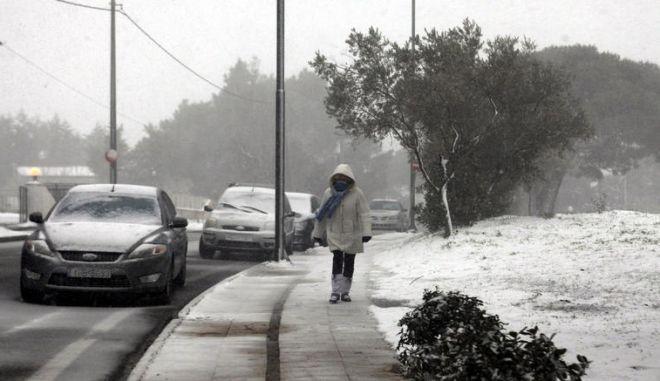 Χιόνια και χαμηλές θερμοκρασίες