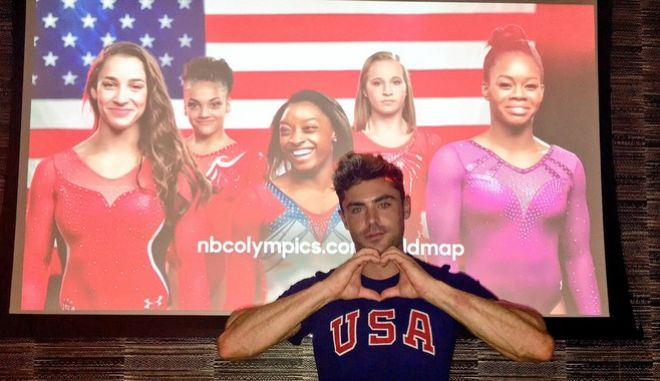 Αν είσαι Χρυσή Ολυμπιονίκης 'ρίχνεις' ακόμη και τον Zac Effron