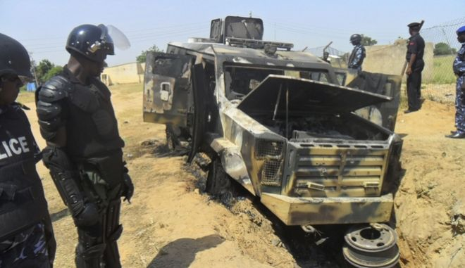 Επίθεση σε στρατιωτικό όχημα στη Νιγηρία (αρχείο)