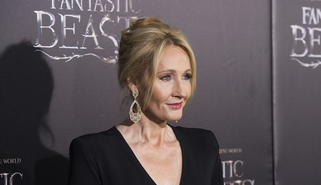 "J. K. Rowling attends the world premiere of ""Fantastic Beasts and Where To Find Them"" at Alice Tully Hall on Thursday, Nov. 10, 2016, in New York. (Photo by Charles Sykes/Invision/AP)"