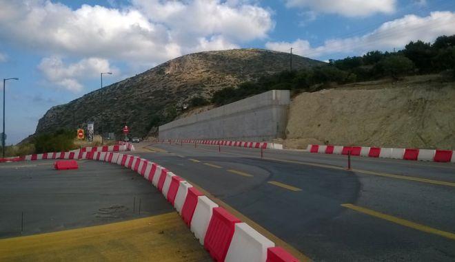Παραδόθηκε ο οδικός άξονας Ηράκλειο - Μεσαρά