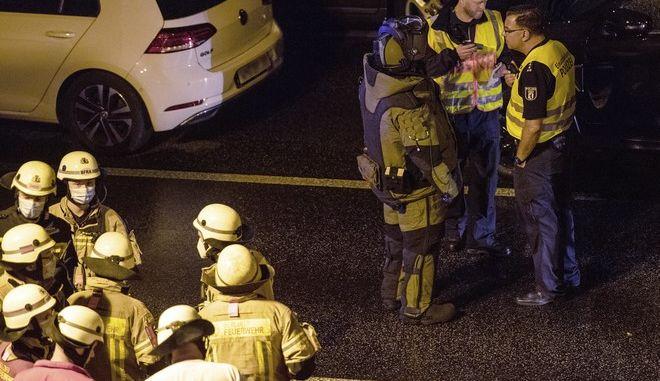 Πυροσβεστικές δυνάμεις στη Γερμανά (ΦΩΤΟ ΑΡΧΕΙΟΥ)