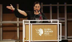 Η Ελληνοκύπρια Άντρια Ζαφειράκου καλύτερη δασκάλα του κόσμου