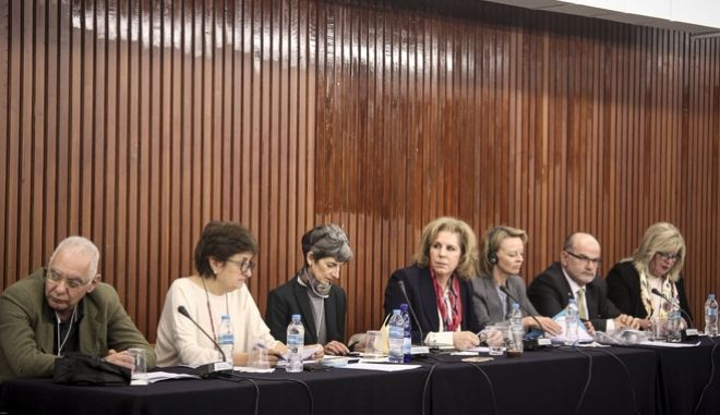 """Πολιτική εκδήλωση, """"Ισότητα στην Πράξη"""", στα πλαίσια του ιδρυτικού συνεδρίου του """"Κινήματος Αλλαγής"""" το Σάββατο 17 Μαρτίου 2018. Χαιρετισμούς στην εκδήλωση απηύθυναν οι: Φώφη Γεννηματά, Επικεφαλής Κινήματος Αλλαγής, Πρόεδρος Κ.Ο. ΔΗ.ΣΥ. και Σταύρος Θεοδωράκης, Μέλος Πολιτικού Συμβουλίου, Επικεφαλής Κ.Ο. Το Ποτάμι. (EUROKINISSI/ΣΩΤΗΡΗΣ ΔΗΜΗΤΡΟΠΟΥΛΟΣ)"""