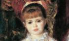 Cahen d'Anvers Girls, by Pierre-Auguste Renoir