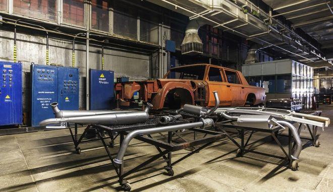 Το εργοστάσιο όπου κατασκευάζονταν τα αυτοκίνητα των ηγετών της ΕΣΣΔ