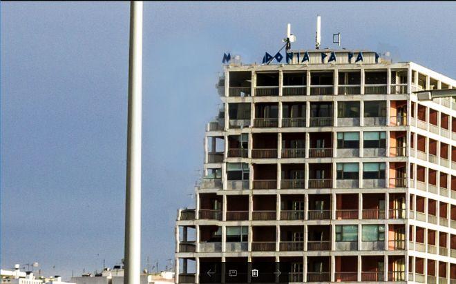 Θεσσαλονίκη: Κατέρρευσε μεγάλο τμήμα του Makedonia Palace
