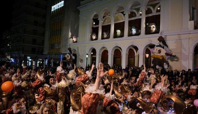 Στιγμιότυπο από καρναβάλι