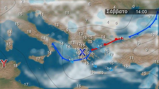 Καιρός: Πρόσκαιρη βελτίωση από το απόγευμα της Πέμπτης -Τοπικές βροχές το Σαββατοκύριακο