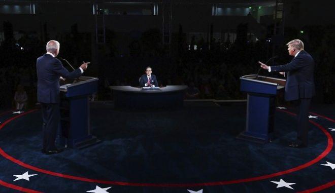 Το πρώτο debate των υποψηφίων για την προεδρία των ΗΠΑ, οριακά δεν μετετράπη σε ρινγκ