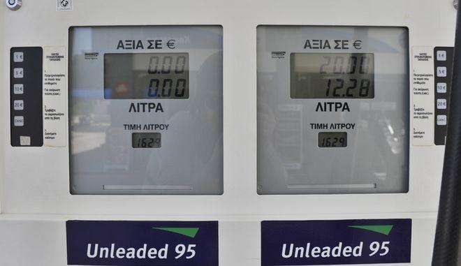 Ποικίλει η τιμή της αμόλυβδης βενζίνης