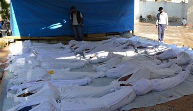 13 βίντεο από τα χημικά στη Συρία δημοσίευσε το CNN