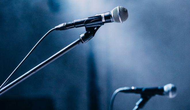Μικρόφωνα σε συναυλία