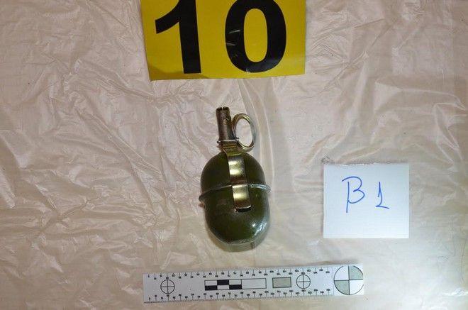 Αυτά είναι τα όπλα που βρέθηκαν στο κρησφύγετο της Ρούπα