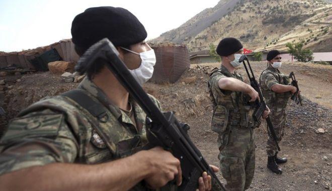 Τούρκοι στρατιώτες στο Ιράκ