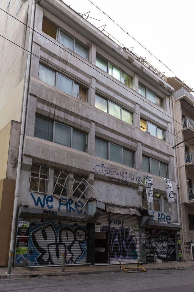 Ολοκληρώθηκε η επιχείρηση εκκένωσης στο κτίριο της οδού Μπουμπουλίνας