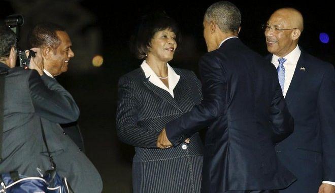 Επίσκεψη Ομπάμα στη Τζαμάικα