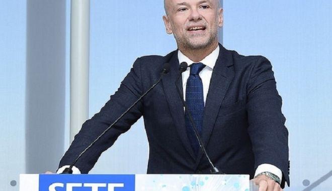 Ο πρόεδρος του ΣΕΤΕ, Γιάννης Ρέτσος