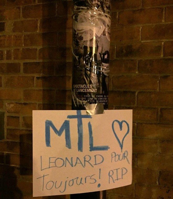 Τριντό: Λέοναρντ, θα μας λείψεις