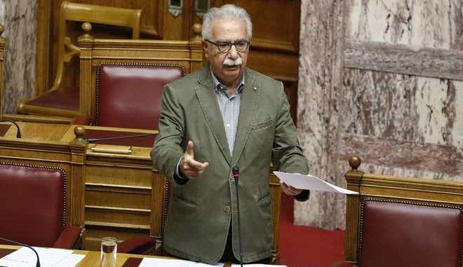 Συζήτηση επίκαιρων ερωτήσεων στη Βουλή. Δευτέρα 6 Νοέμβρη 2017.  (EUROKINISSI / Γιώργος Κονταρίνης)
