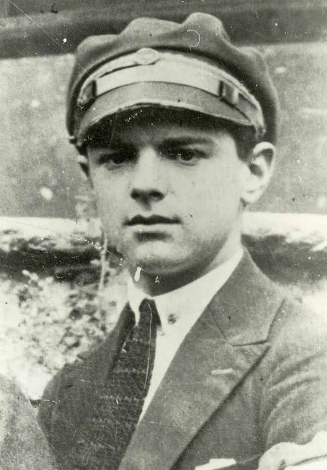 Ο Κωνσταντίνος Καραμανλής σε νεαρή ηλικία