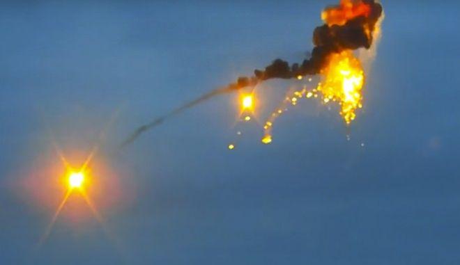 Βομβαρδισμοί στο Ναγκόρνο Καραμπάχ (φωτογραφία αρχείου)