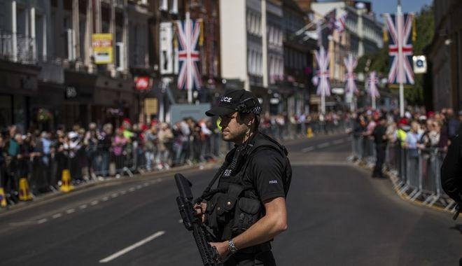 Αστυνομικές δυνάμεις στη πόλη Γουίντσορ