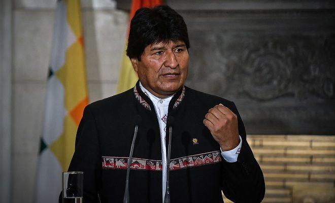 Συνάντηση του Πρωθυπουργού Αλέξη Τσίπρα με τον Πρόεδρο της Βολιβίας, Έβο Μοράλες, την Παρασκευή 15 Μαρτίου 2019.